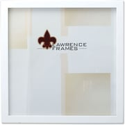 "Lawrence Frames 12"" x 12"" Studio Wood White Picture Frame (755812)"