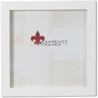 5x5 White Wood Picture Frame - Gallery Collection
