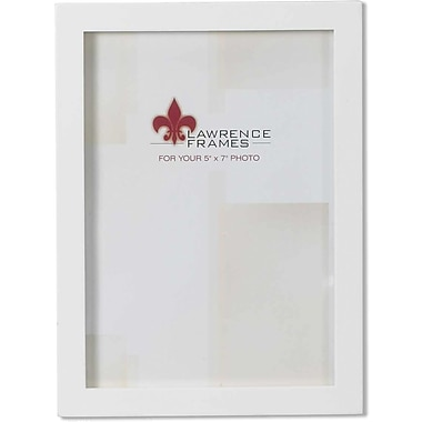 5x7 White Wood Picture Frame - Gallery Collection