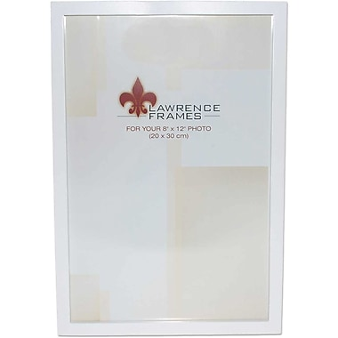 8x12 White Wood Picture Frame - Gallery Collection