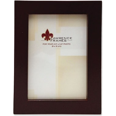 755923 Espresso Wood 2.5x3.5 Picture Frame - Gallery Collection