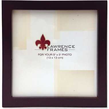 755955 Espresso Wood 5x5 Picture Frame