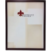 "Lawrence Frames 8.5"" x 11"" Wooden Espresso Picture Frame (755981)"