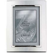 """Lawrence Frames Verona Collection 8"""" x 10"""" Metal Silver Domed Picture Frame (760280)"""