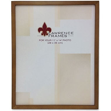 Lawrence Frames Verona Collection Metal Bronze on Pewter Picture Frame (8403)