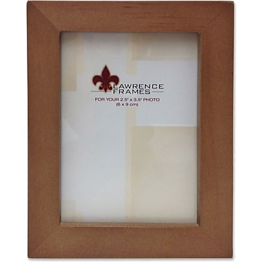 766023 Nutmeg Wood 2.5x3.5 Picture Frame - Gallery Collection