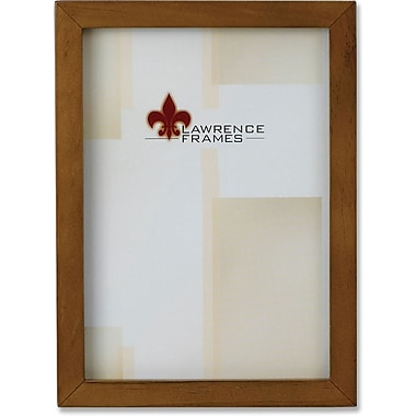 Lawrence Frames 8in. x 10in. Wooden Nutmeg Picture Frame (766080)