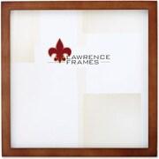 "Lawrence Frames 8"" x 8"" Wooden Nutmeg Picture Frame (766088)"