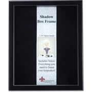 "Lawrence Frames 11"" x 14"" Wood Black Shadow Box Picture Frame (790011)"