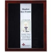 "Lawrence Frames Shadow Box Collection 11"" x 14"" Wooden Espresso Box Frame (790111)"