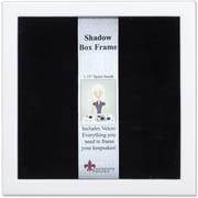 790288 White Wood Shadow Box 8x8 Picture Frame