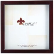 "Lawrence Frames 12"" x 12"" Wooden Espresso Treasure Espresso Box Frame (795112)"