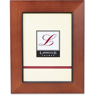 Chestnut Wood 5x7 Picture Frame With Black Line