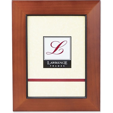Chestnut Wood 8x10 Picture Frame With Black Line