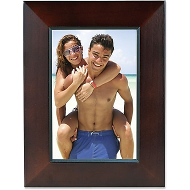 Walnut Wood 4x6 Picture Frame with Black Line