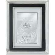 "Lawrence Frames Verona Collection 5"" x 7"" Metal Silver Picture Frame (840157)"