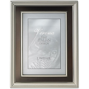 Lawrence Frames Pewter Metal with Bronze Inner Panel