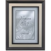 "Lawrence Frames Verona Collection 4"" x 6"" Metal Brushed Brass on Bronze (840546)"