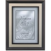 "Lawrence Frames Verona Collection 5"" x 7"" Metal Brushed Brass on Bronze (840557)"