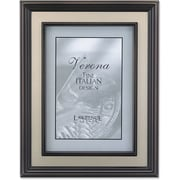 "Lawrence Frames Verona Collection 8"" x 10"" Metal Brushed Brass on Bronze (840580)"