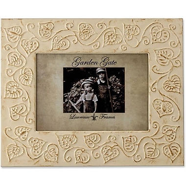 Lawrence Frames 4in. x 6in. Metal Silver 25th Anniversary Picture Frame (8980)