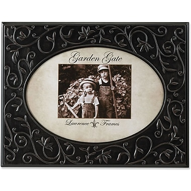 Garden Gate Rustica Bronze Floral Vine Oval 8x10 Metal Picture Frame