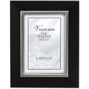 "Lawrence Frames Verona Collection 5"" x 7"" Wooden Black Picture Frame (95157)"