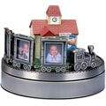 Wind Up Musical Choo Choo Train Frame - Holds Three 2x3 Photos