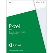 Microsoft Excel 2013 for Windows (1-User) [Product Key Card]