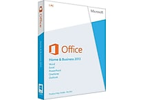 Microsoft Office Home & Business 2013 for Windows (1-User) [Product Key Card]