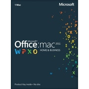 Microsoft Office Home & Business 2011 for Mac (1-User) [Product Key Card]