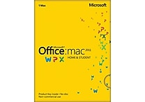 Microsoft Office Home & Student 2011 for Mac (1-User) [Product Key Card]