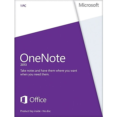 Microsoft OneNote 2013 for Windows
