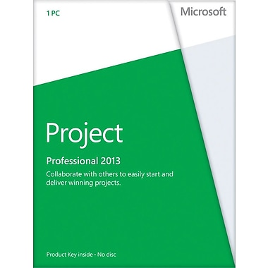 Microsoft Project Professional 2013 for Windows