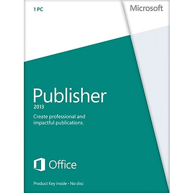 Microsoft Publisher 2013 for Windows