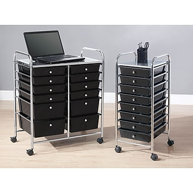 Whalen Rolling Storage Organizers (8 or 12 Drawer)