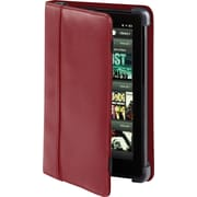 Cyber Acoustics Red Koskin Leather Cover for Kindle Fire