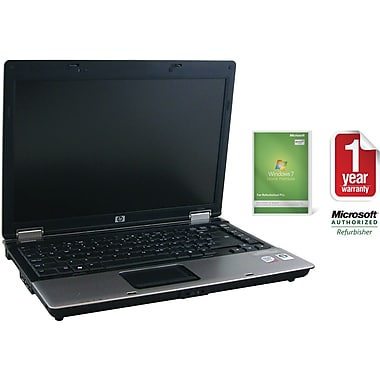Refurbished HP 6530B 14.1in., 160GB Hard Drive, 2GB Memory, Intel Core 2 Duo, Win 7 Home