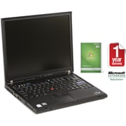 "Refurbished Lenovo T61 14.1"", 100GB Hard Drive, 2GB Memory, Intel Core 2 Duo, Win 7 Home"