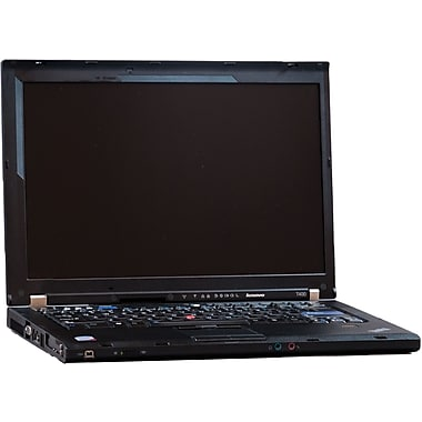 Refurbished Lenovo T400 14.1in., 160GB Hard Drive, 3GB Memory, Intel Core 2 Duo, Win 7 Home