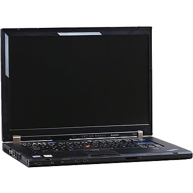 Refurbished Lenovo T500 15.5in., 160GB Hard Drive, 4GB Memory, Intel Core 2 Duo, Win 7 Pro