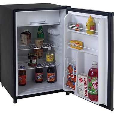 Avanti® 4.5 CU. FT. Refrigerator With Can Dispenser, Black