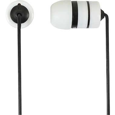 Koss Rukus 20 Noise Isolating Earbud Headphones, White