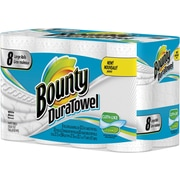 Bounty® DuraTowel® 8 Large Rolls/Case