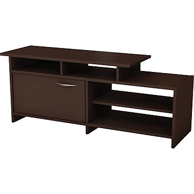 South Shore City Life TV Stand, Chocolate