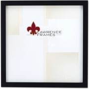 "Lawrence Frames 10"" x 10"" Wooden Black Picture Frame (755510)"
