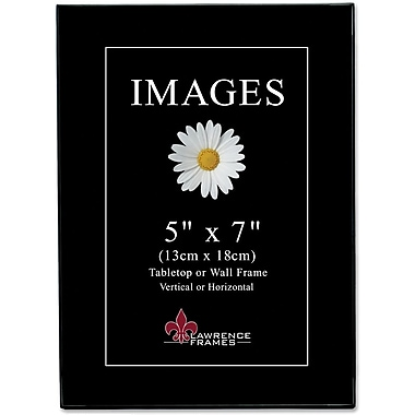 Black Gallery 5x7 Standard Picture Frames