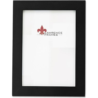 Lawrence Frames 5in. x 7in. Wooden Black Picture Frame (34357)