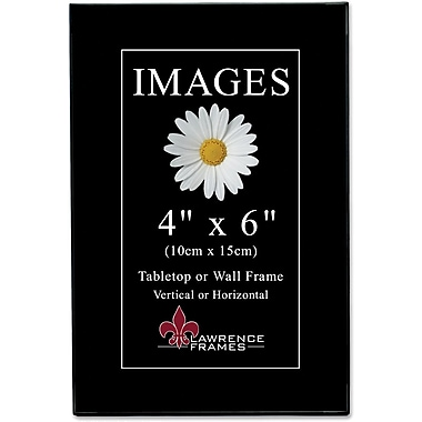 Black Gallery 4x6 Standard Picture Frames