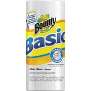 Bounty® Basic Paper Towel Rolls, 1-Ply, 30 Rolls/Case